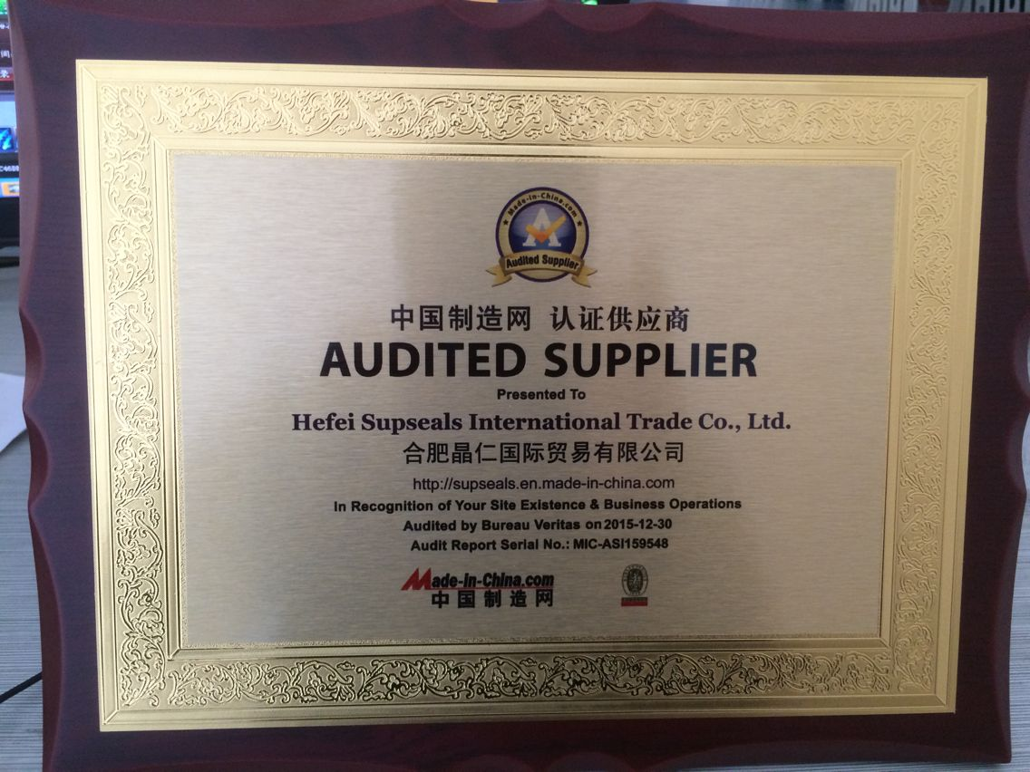 Audited Supplier 1