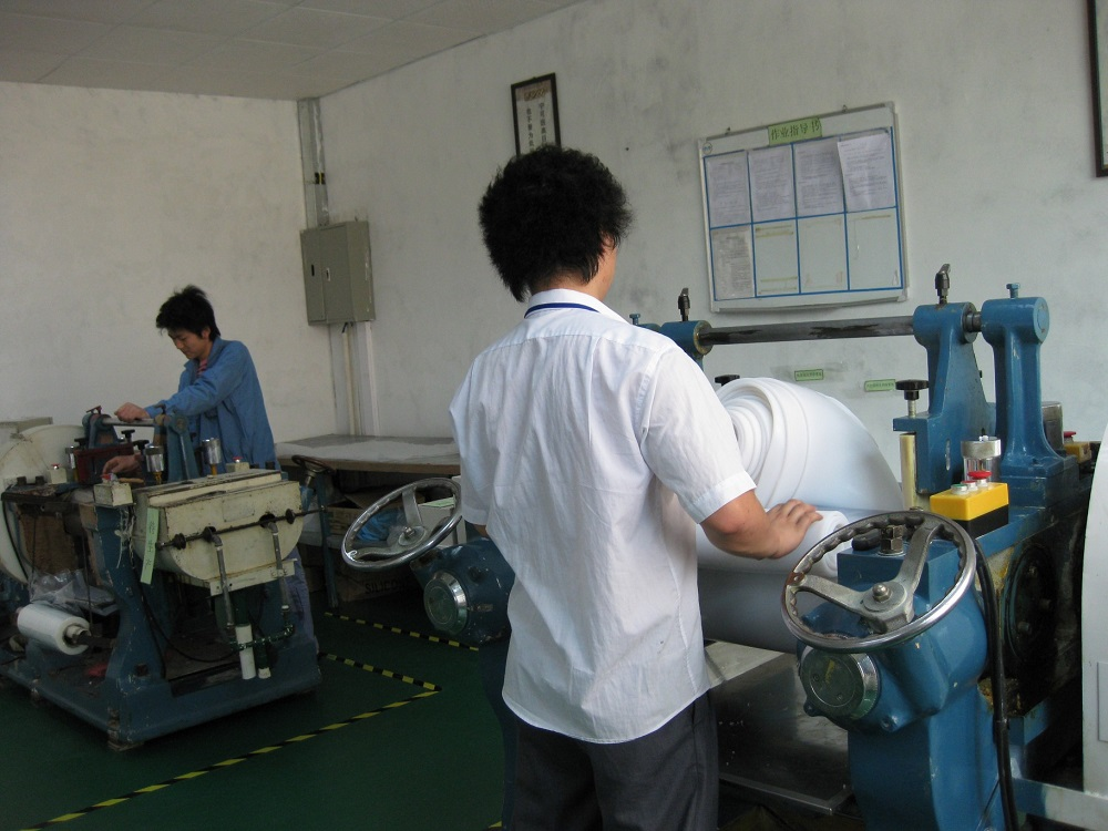 Rubber factory-mixing