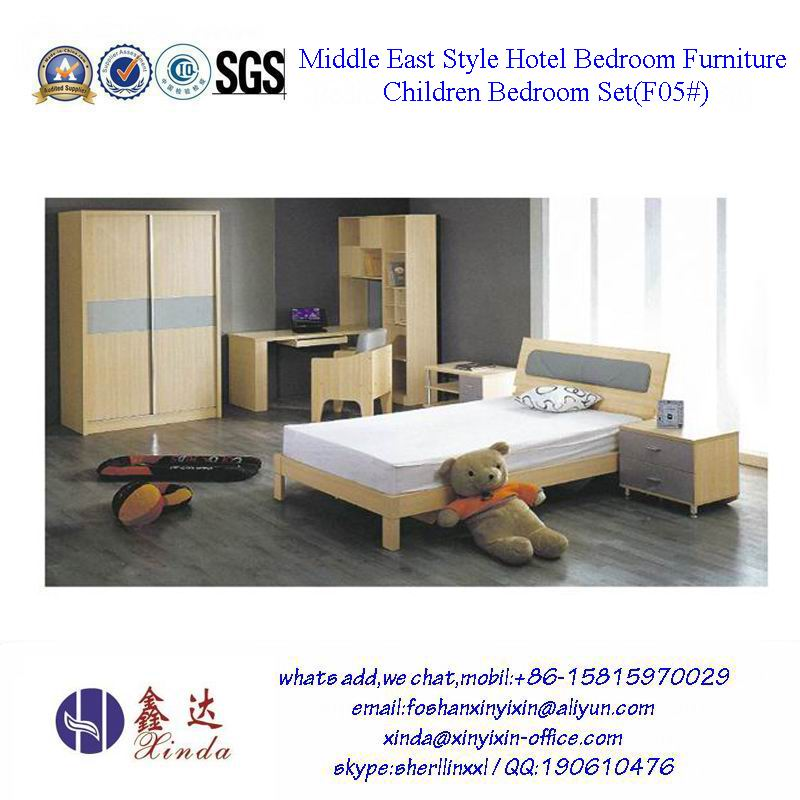 Middle East Style Hotel Bedroom Furniture Children Bedroom Set