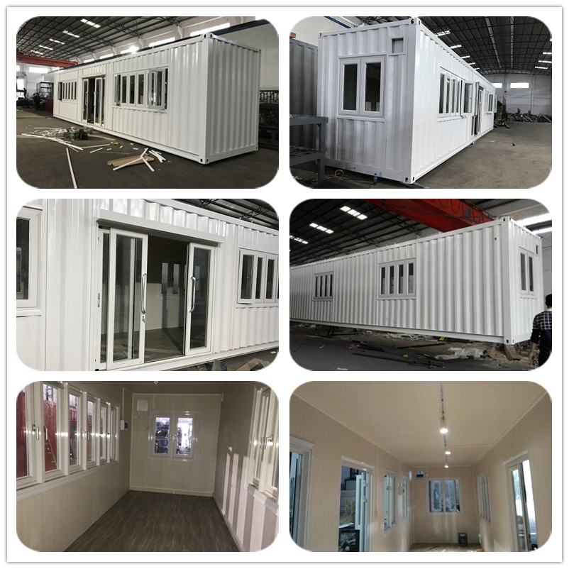 40ft standard size modern design container house