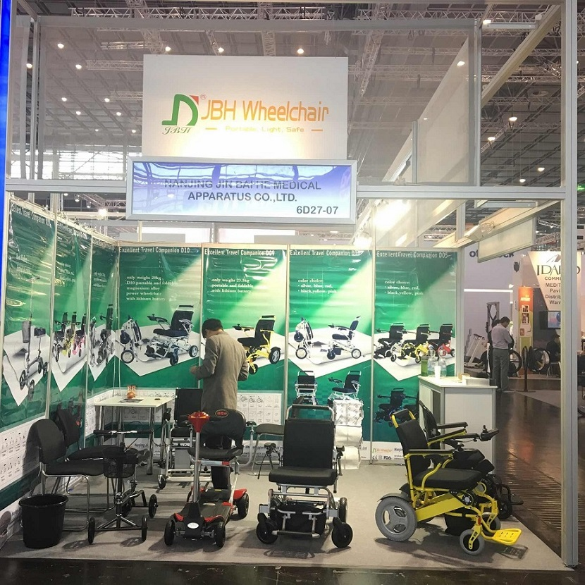 JBH electric wheelchair and scooter exhibition show