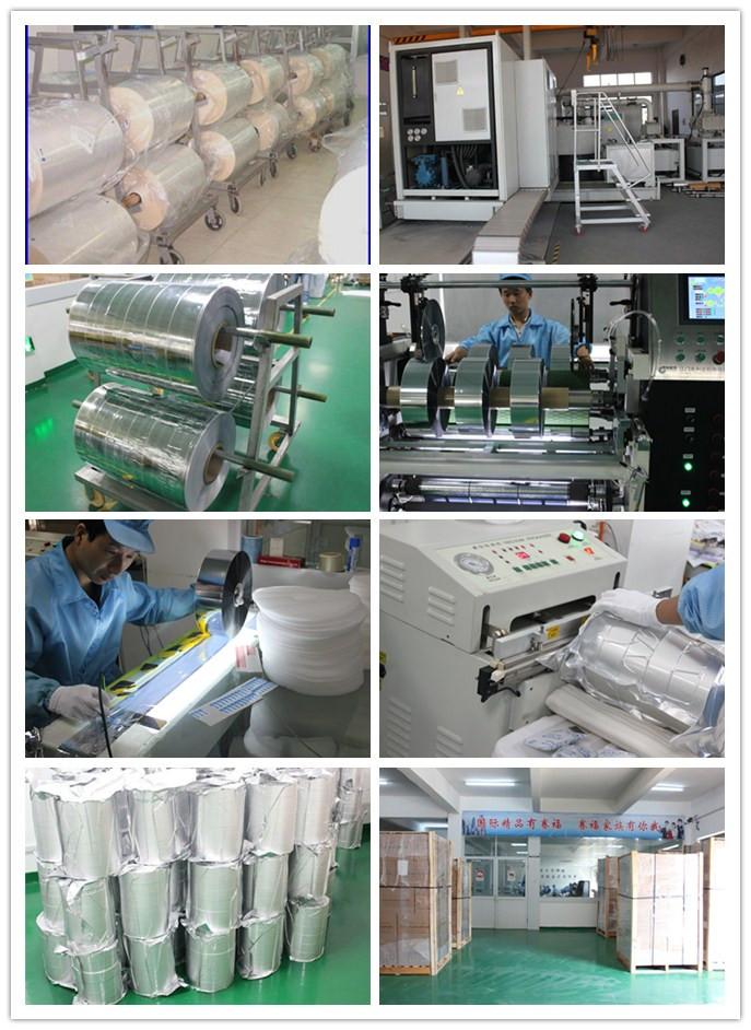 Metallized flm and film capacitor export packing