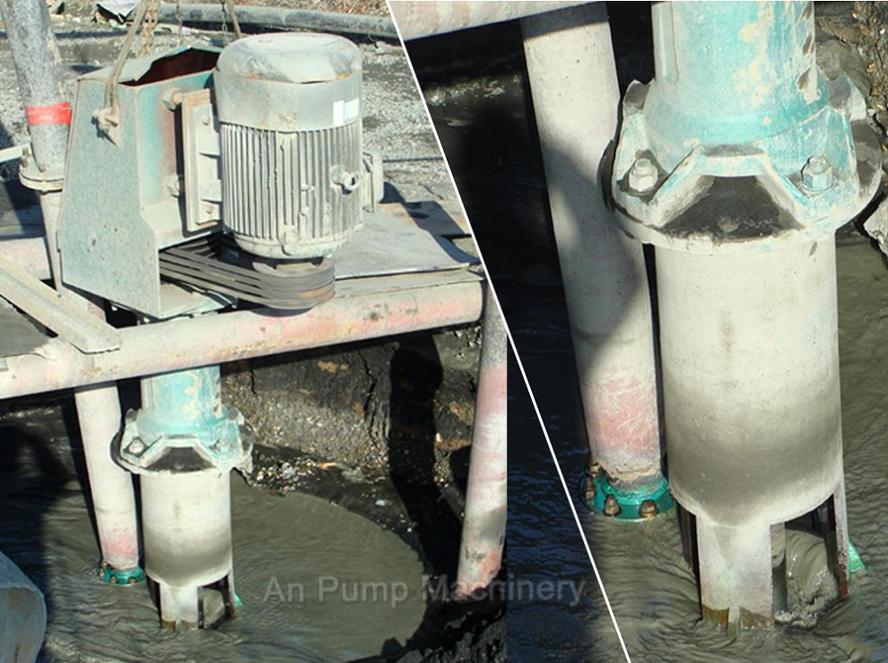 Submersible High Density Slurry Pump for Russia