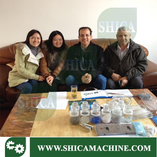 Middle east client visit factory