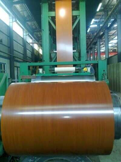 New product color coated steel coil in our factory