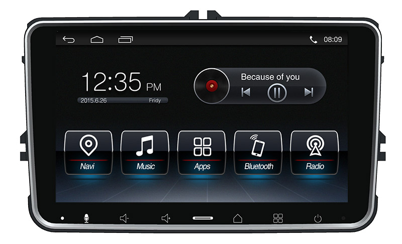 Andriod Car Volkswagen Universal Gps Dvd Player