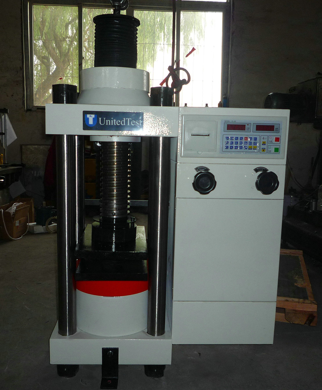 Concrete Compression Testing Machine Ready for Packing