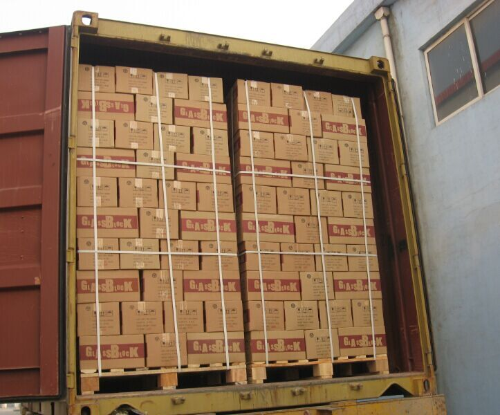 Package for Glass Block