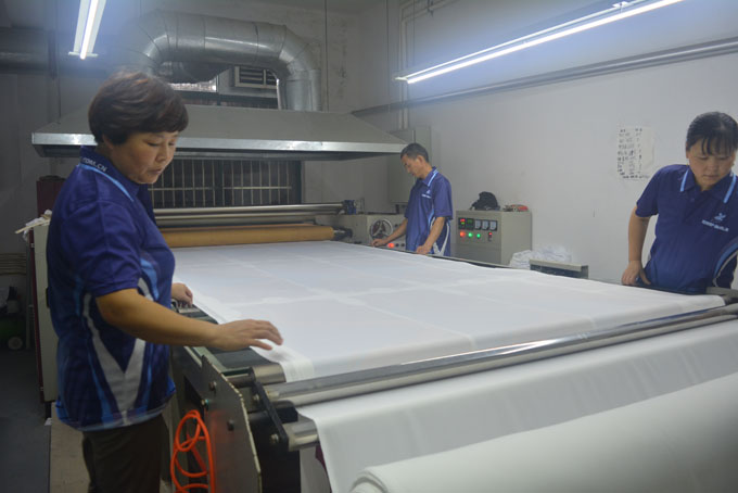 Roll Heat Transfer Printing