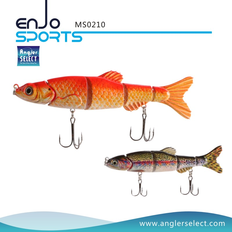 Multi Jointed Fishing Lure (MS0210)
