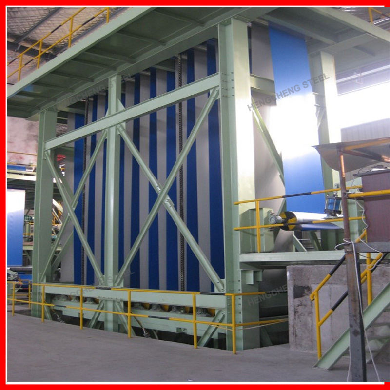 Prepainted Galvanized Steel Coils Production Line