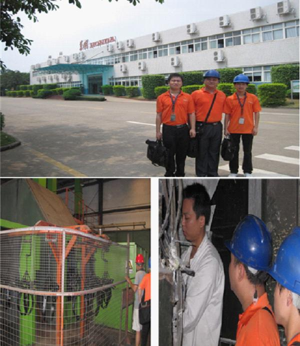Visit to One of The Automobile Parts Factorys in Hui Zhou
