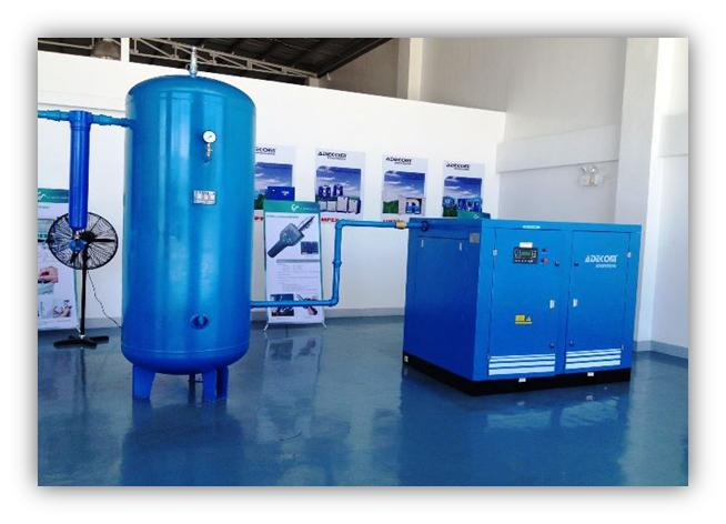 Rotary Screw Air Compressor Installed in Philippines 2013