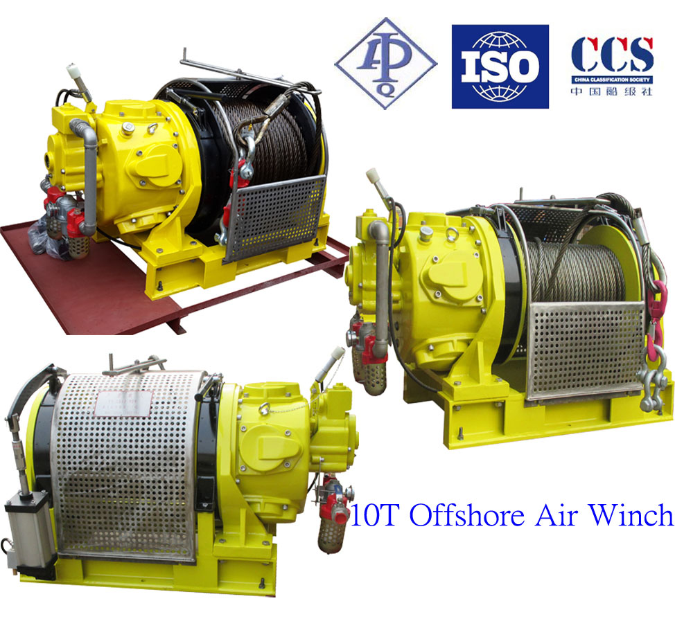Offshore Application Air Tugger Winch 10T Series