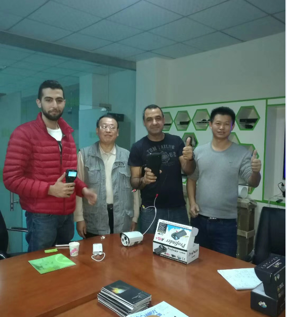 Lebanon customers visit our company