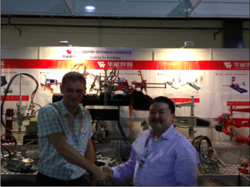 Huawei in 2013 Russia Welding& Cutting Fair