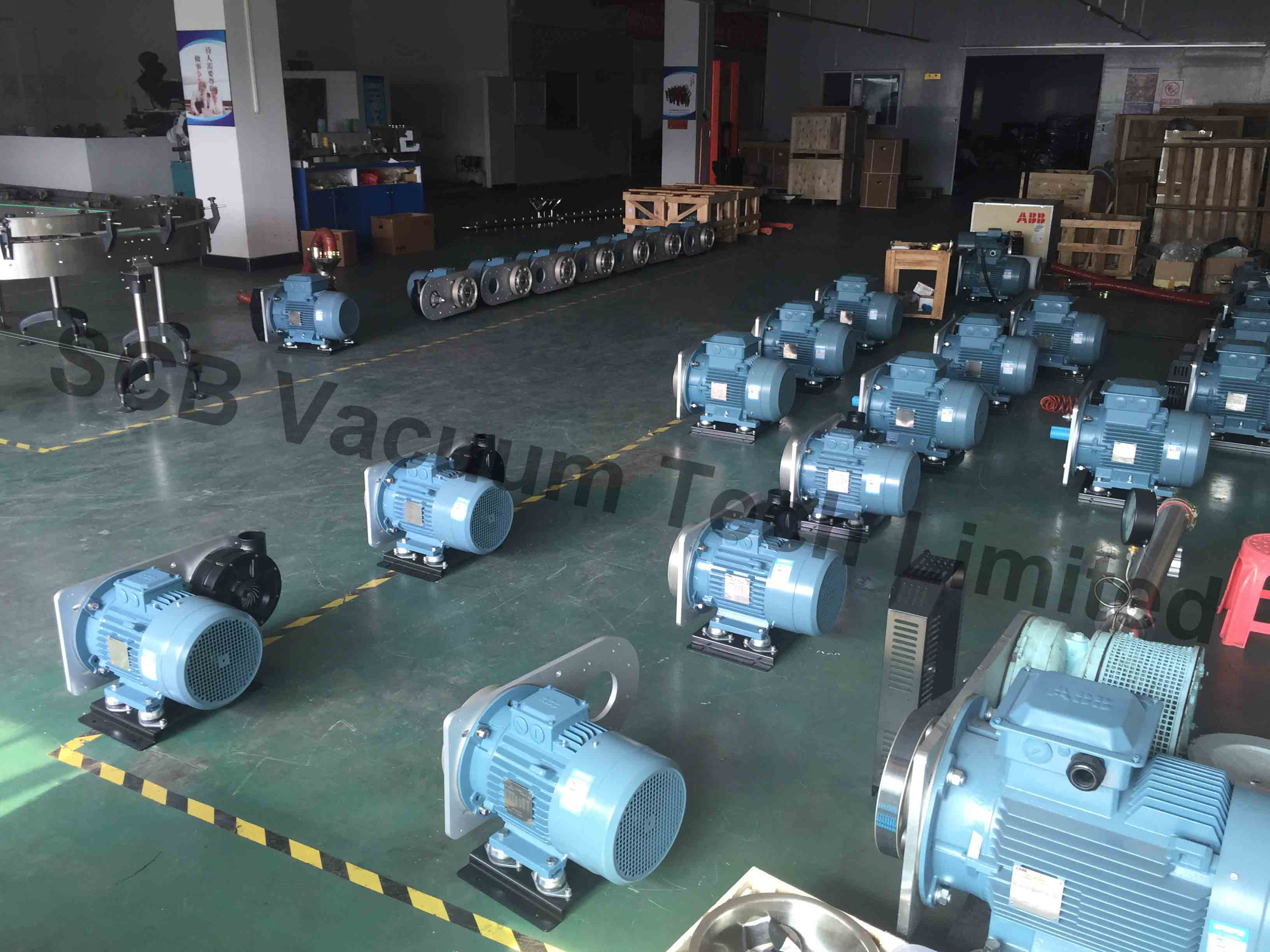 Centrifugal Blower Testing and Shippment