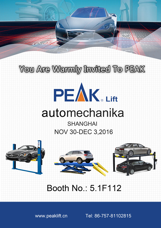 We are warmly invited you to PEAK at