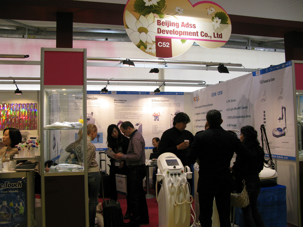 2011, successfully held Cosmoprof Bologna 2011 in Italy