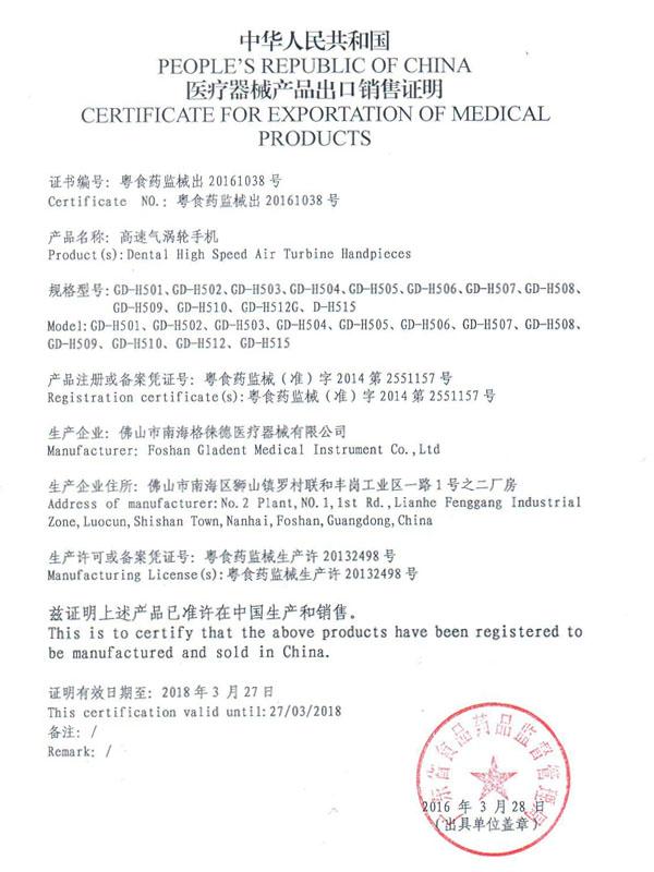free sale high speed dental handpiece