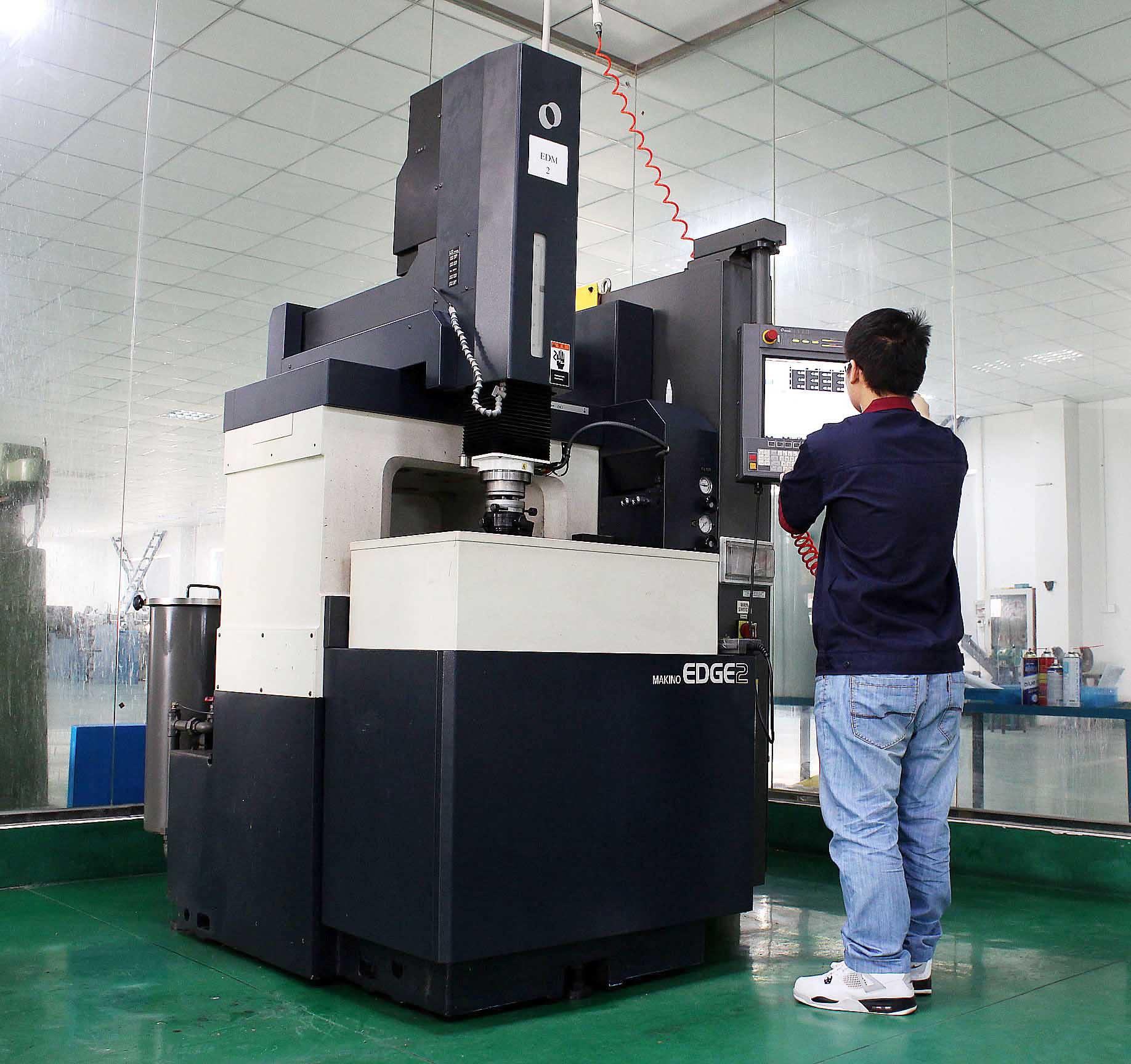 Makino EDM Machine equipment