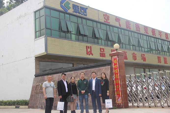 Vietnam customers visited our factory