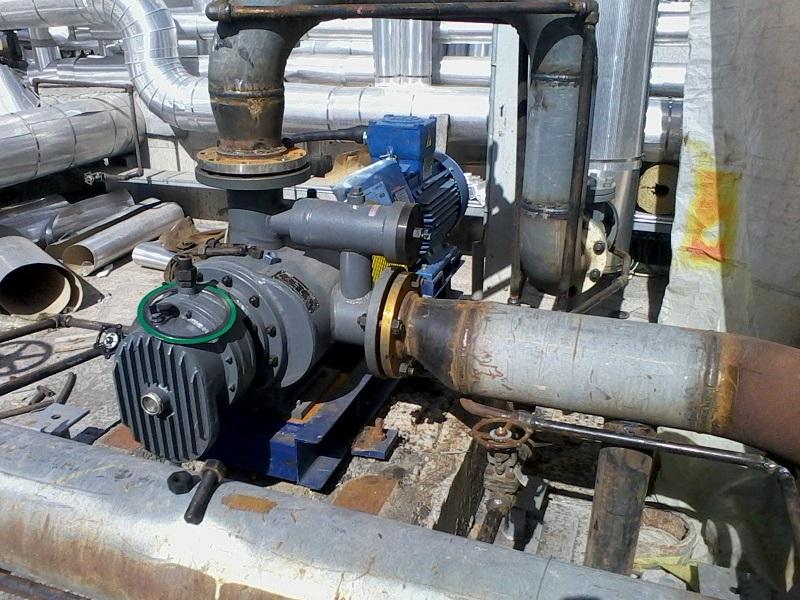 RSP Twin-screw Pump for Crude Oil Transfer in Iran