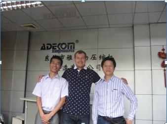 Russia Client Visit ADEKOM