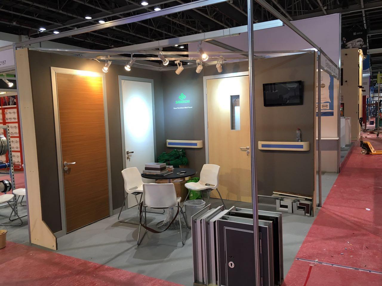 Samekom Exhibition Booth,Dubai Big Five
