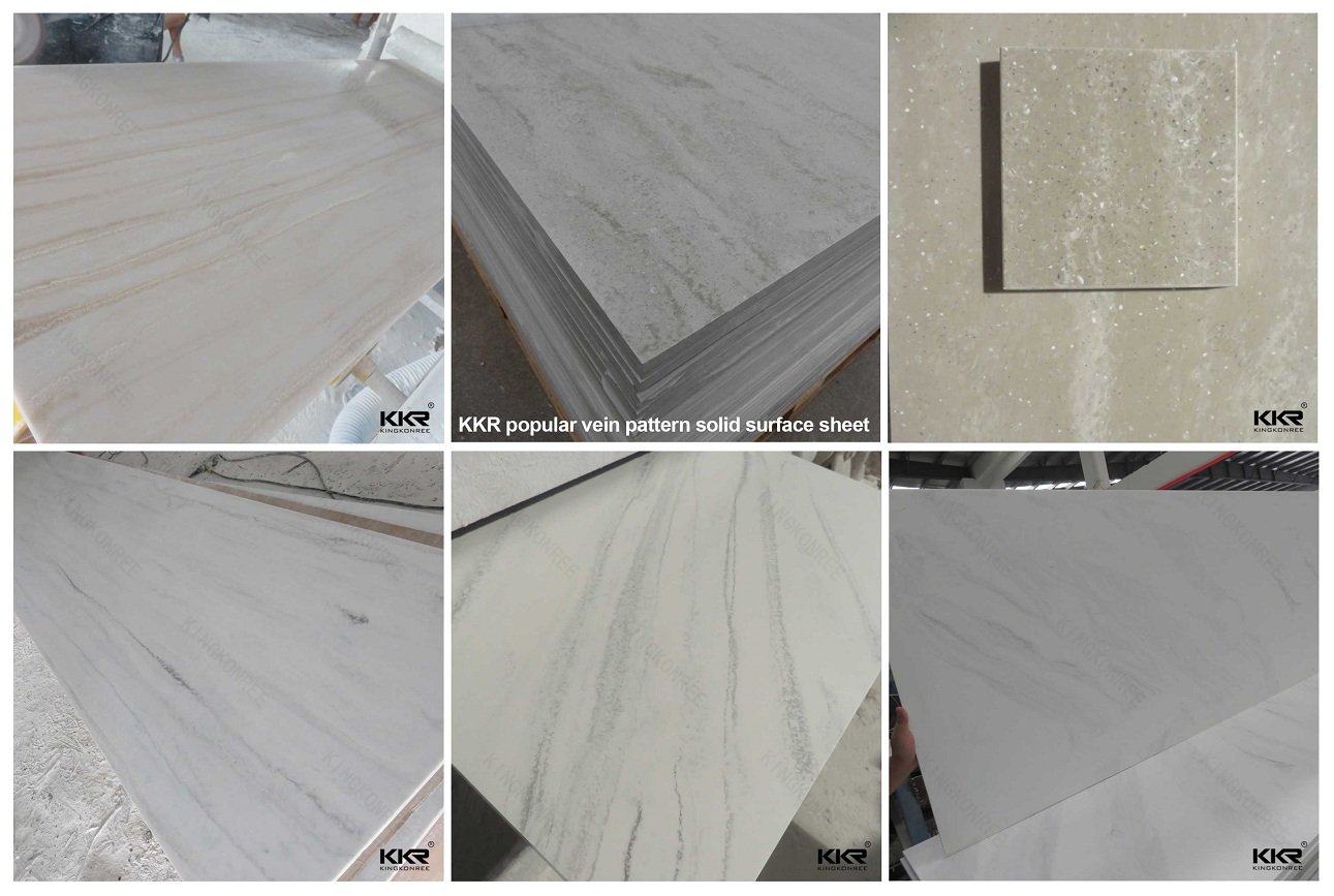 KKR SOLID SURFACE HOT COLOR