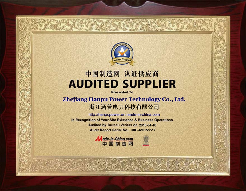 Audited Supplier by The French Bureau Veritas
