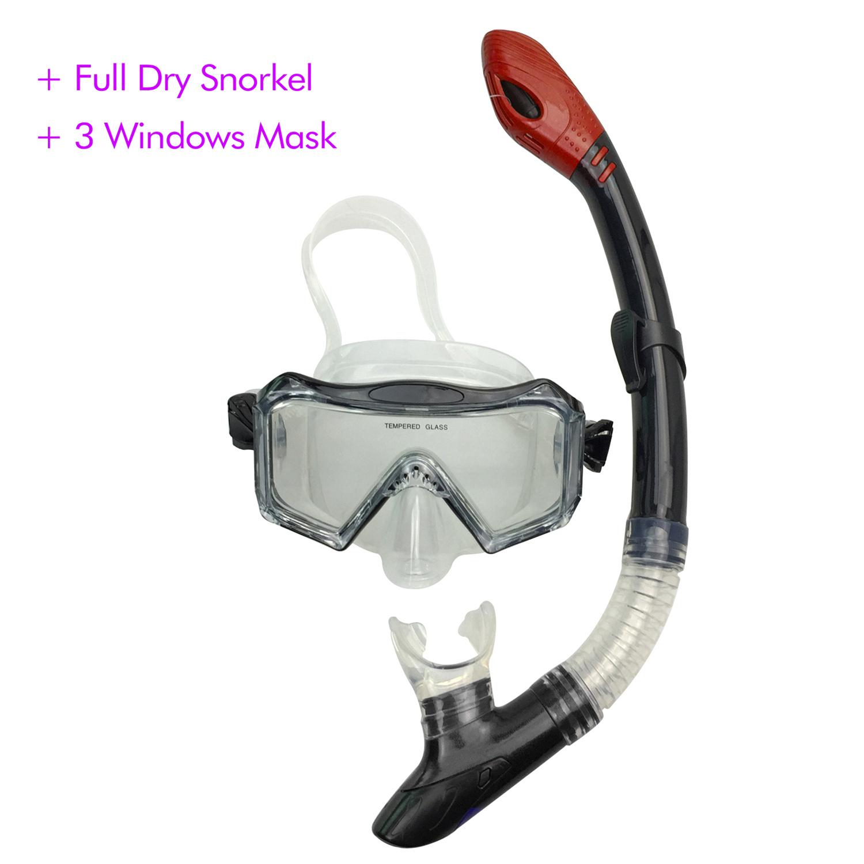 High-end Snorkel Set