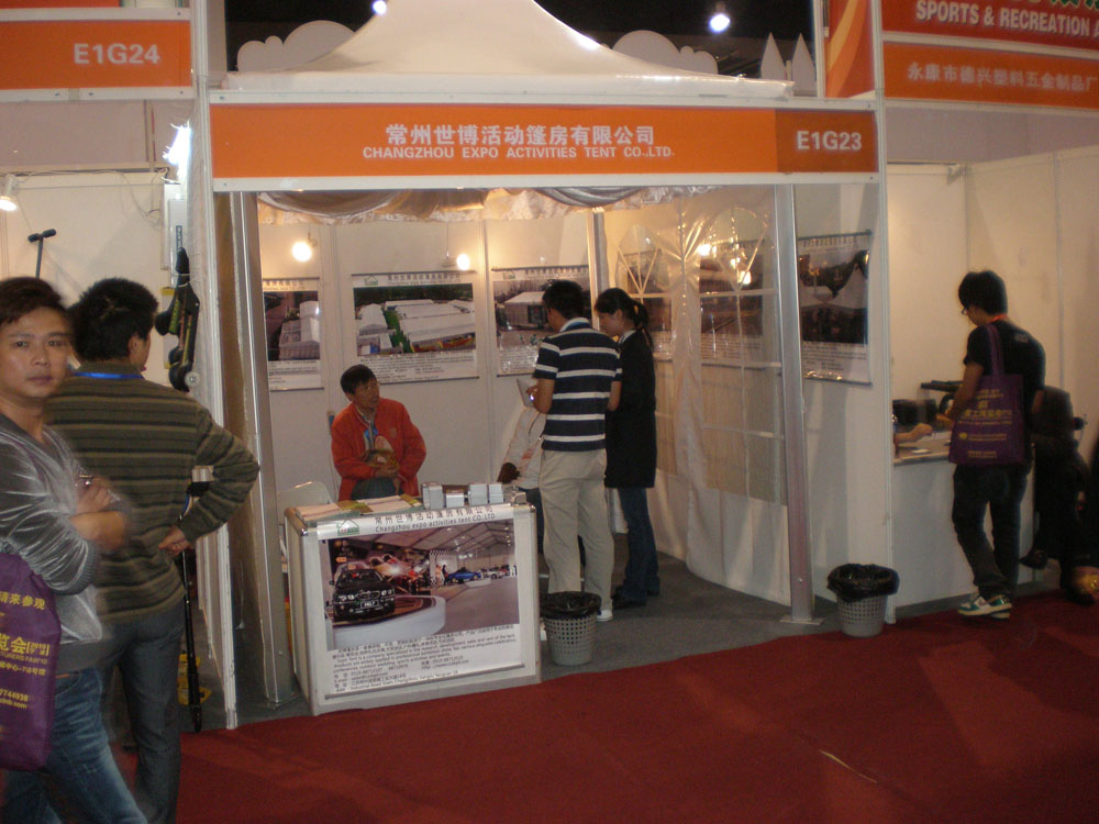 Fair of expo tent