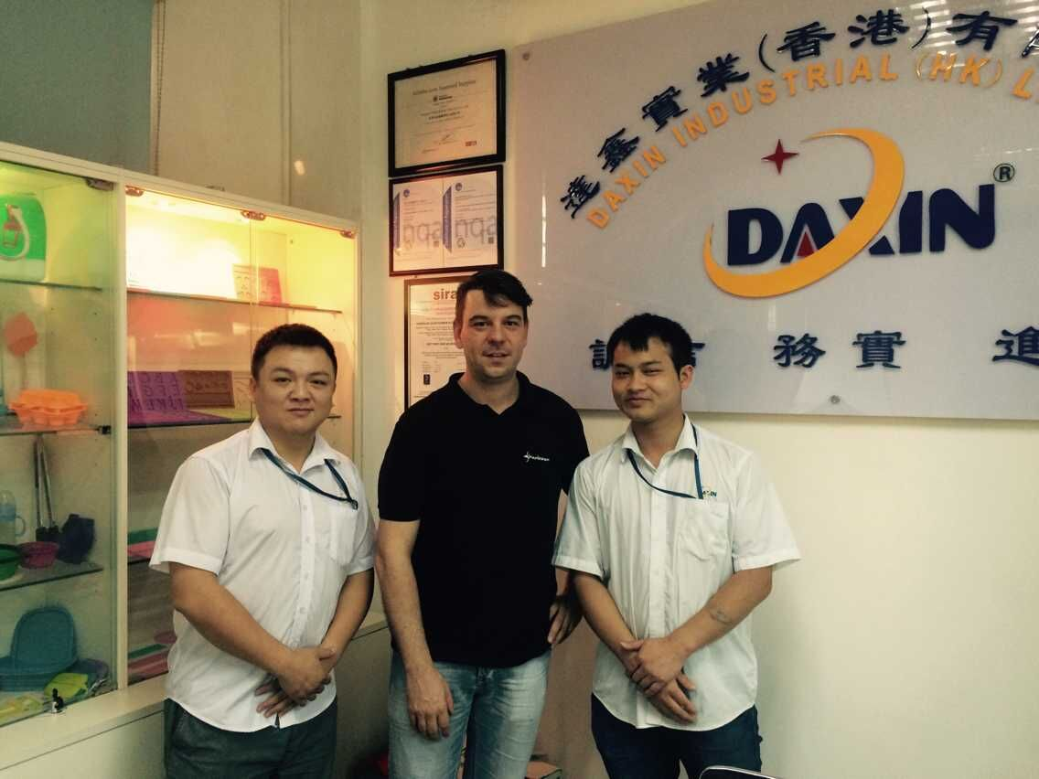 a Germany clients visited our factory