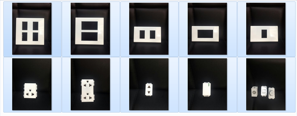 Southeast Asia Switches and Sockets Functional units and plates