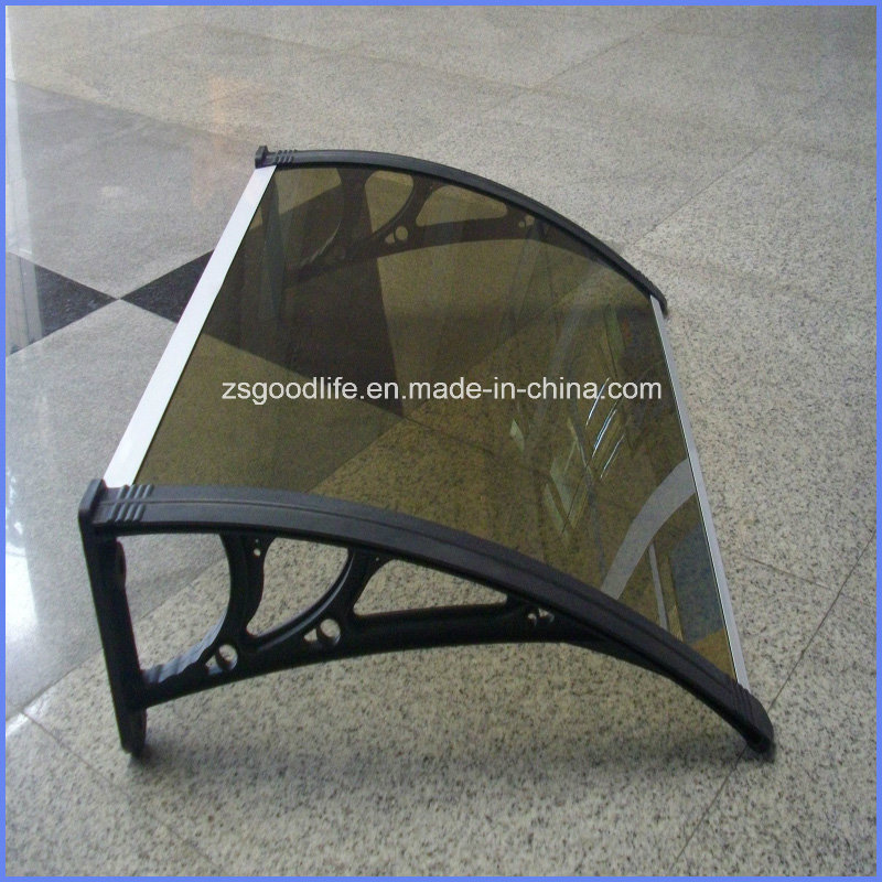 Popular Design Easy Assembling polycarbonate DIY Awnings with plastic frame