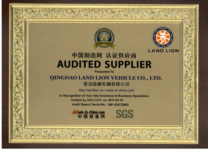 Company Audit from Made in China