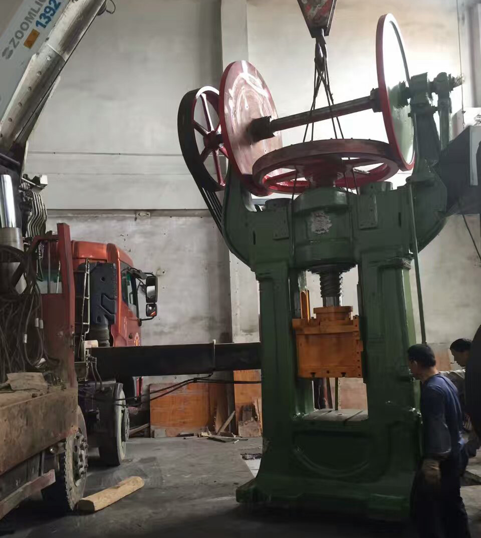 New Brass Forging Machine Assembly