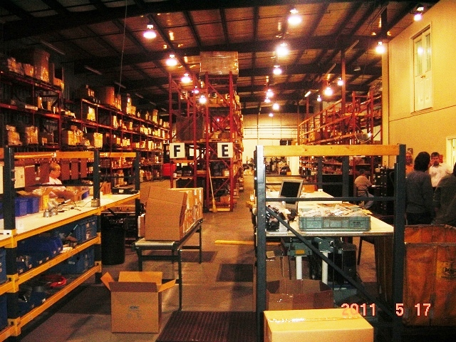 Warehouse in America