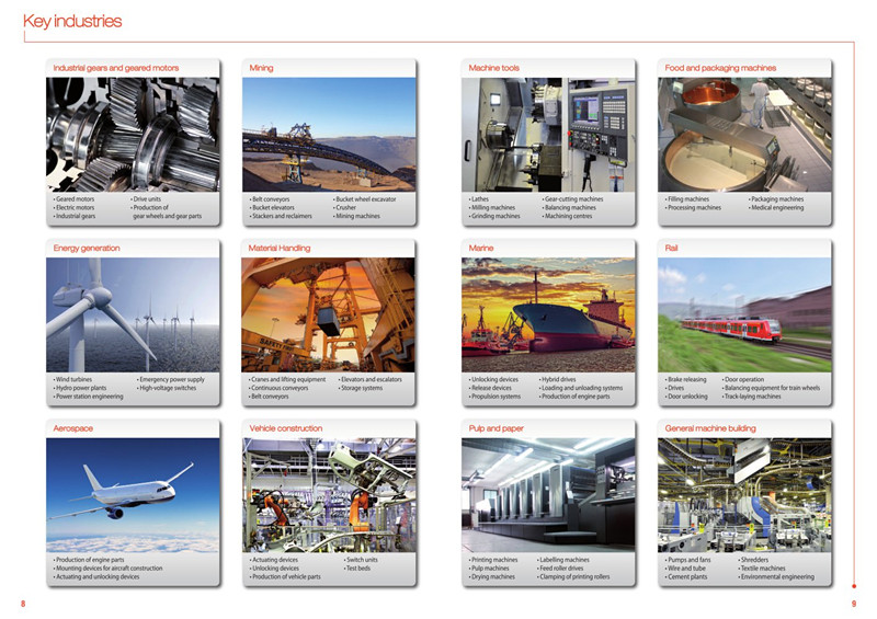 our products apply in key industries