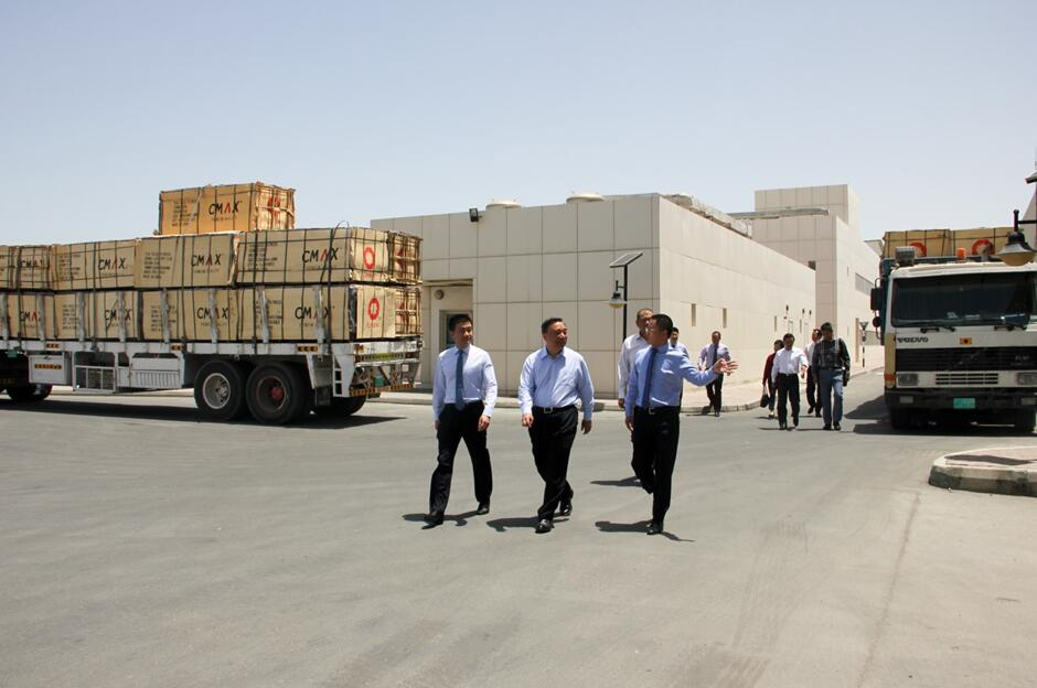 Song Zhiping Visits the Site of CNBM Dubai Industrial Park