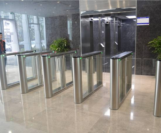 Entrance Control Speed Gate in Hangzhou Enterprise Headquarters