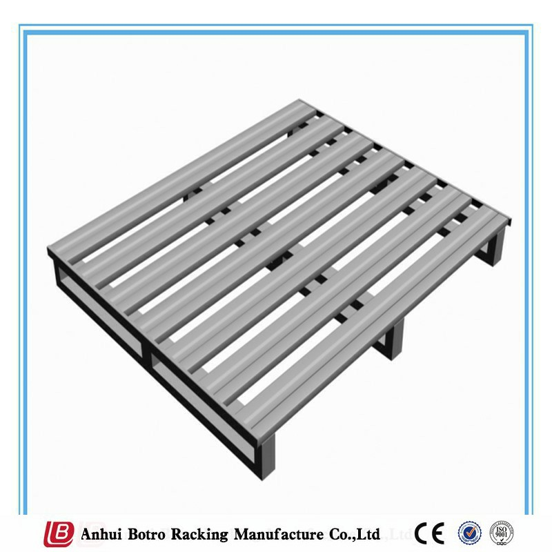 Heavy Duty Stackable Steel Pallet Standard Pallet Size