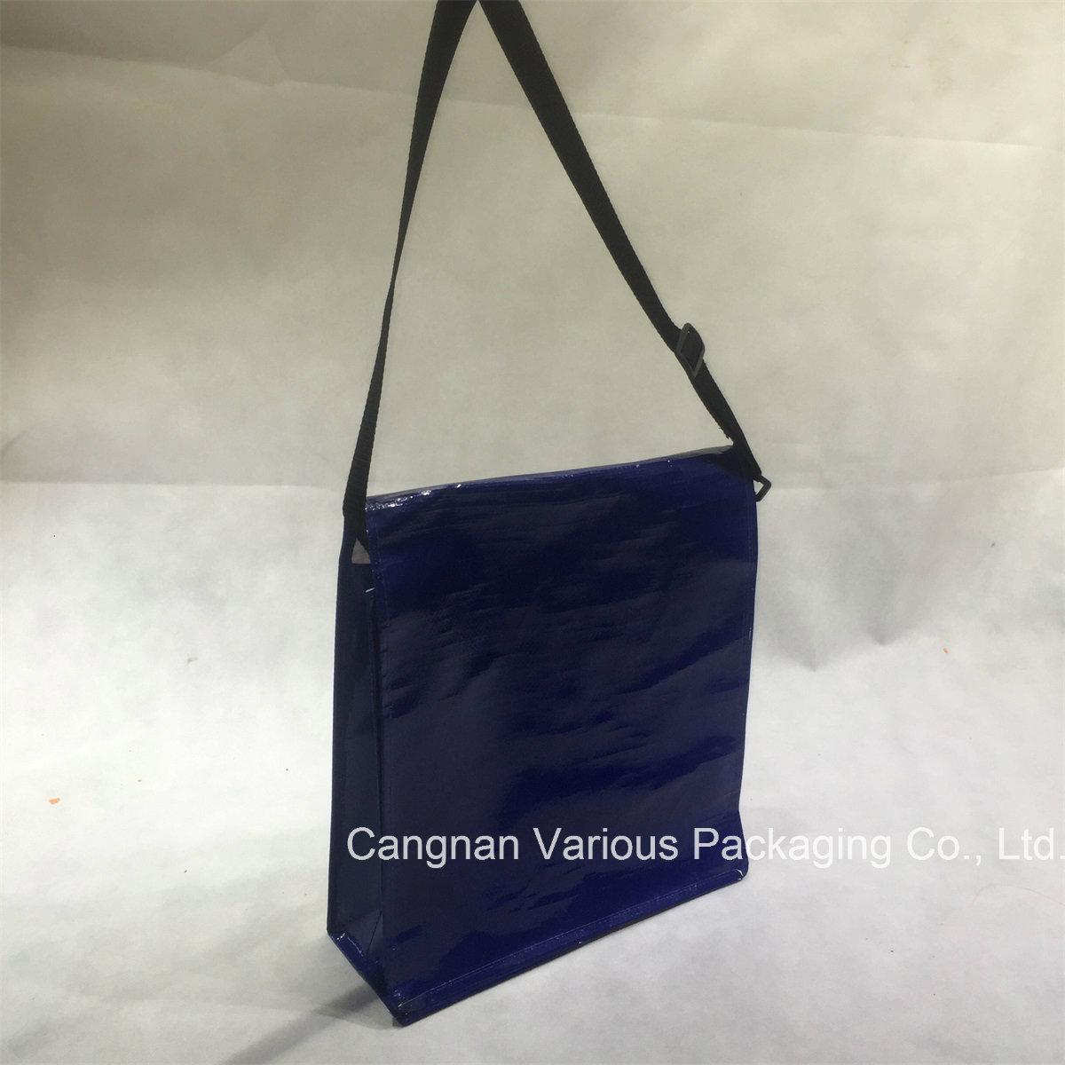 Custom Design PP Woven Tote Bag, Shoulder Bag