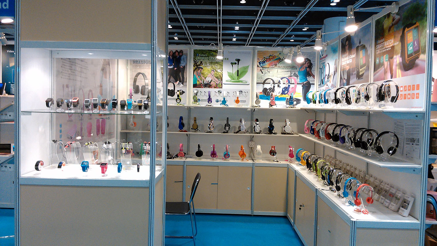 2015 SPLUS HKTDC spring booth