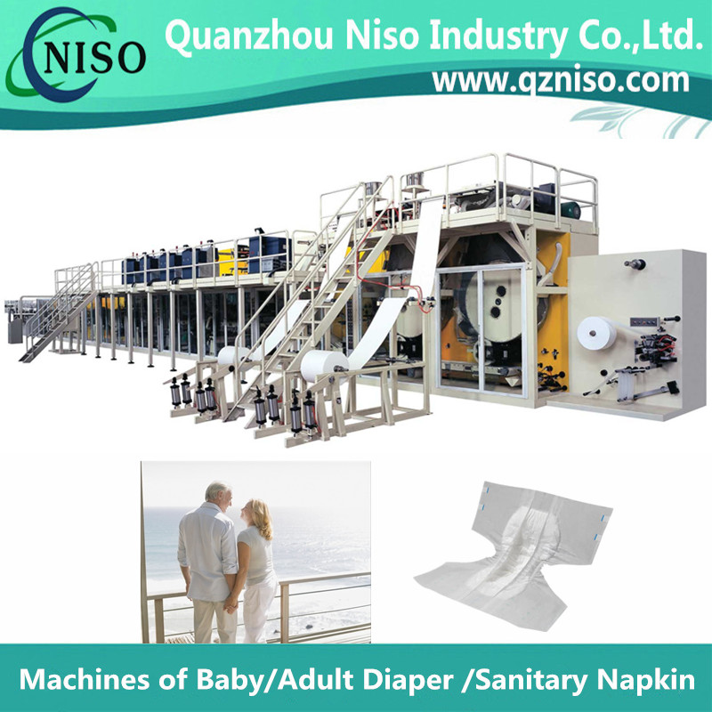 Manufacture of Full-automatic Adult Diaper Machine(CNK300-SV)