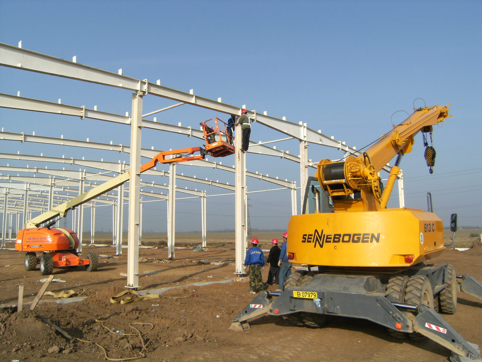 Our company have finised steel structure shed project in Australia.