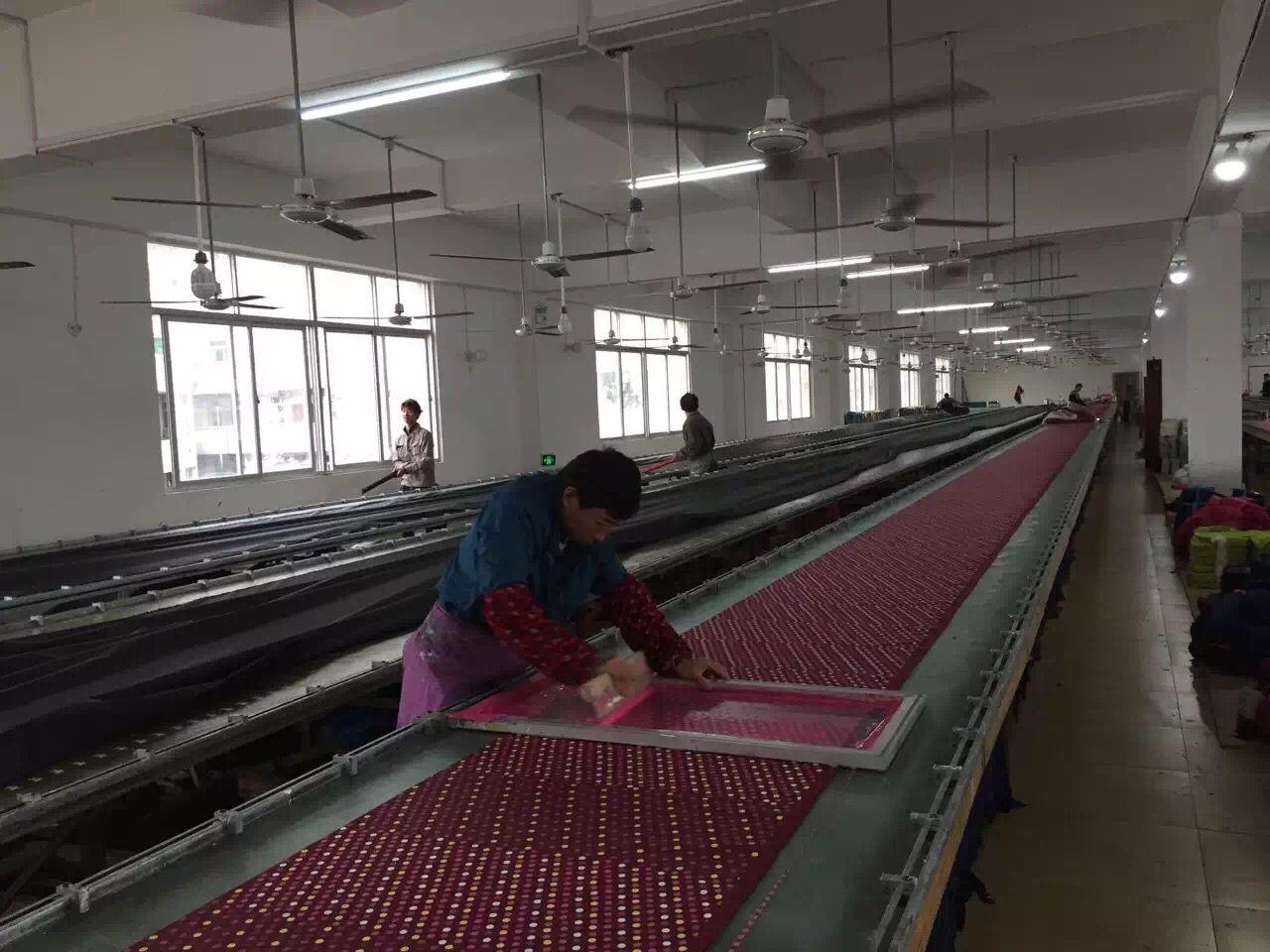 silk screen printing room