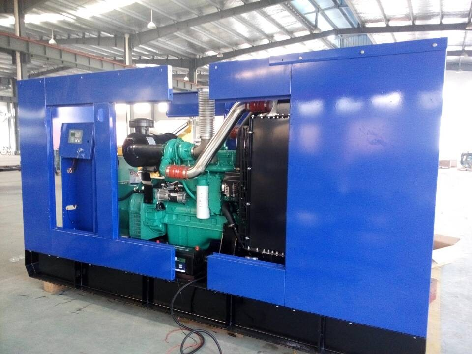 300kVA Cummins genset will finalize enclosure assembly within this week