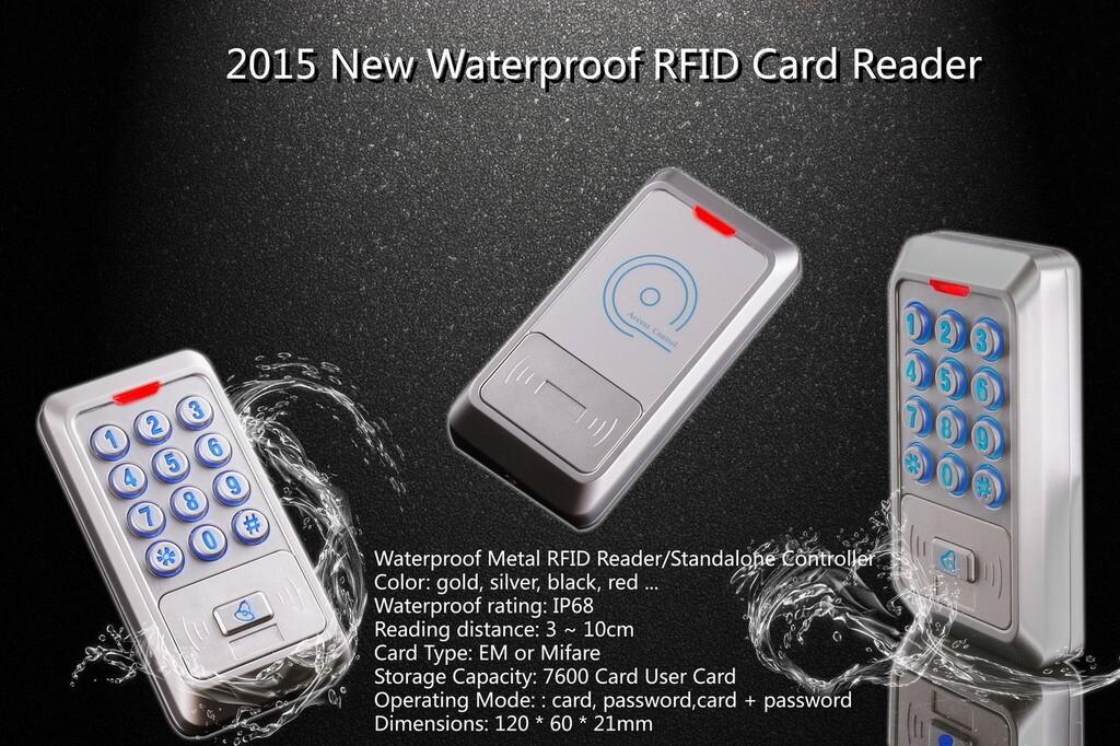 New Metal RFID reader